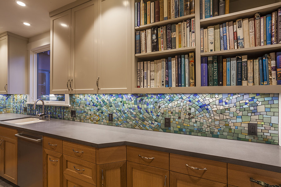 Kitchen Backsplash - Wyss Design